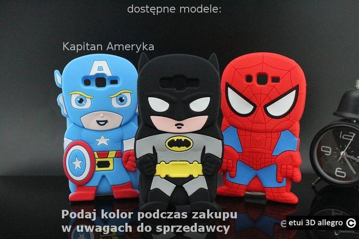 Samsung Galaxy Grand Prime Etui Kapitan AMERYKA Batman Spiderman MARVEL!