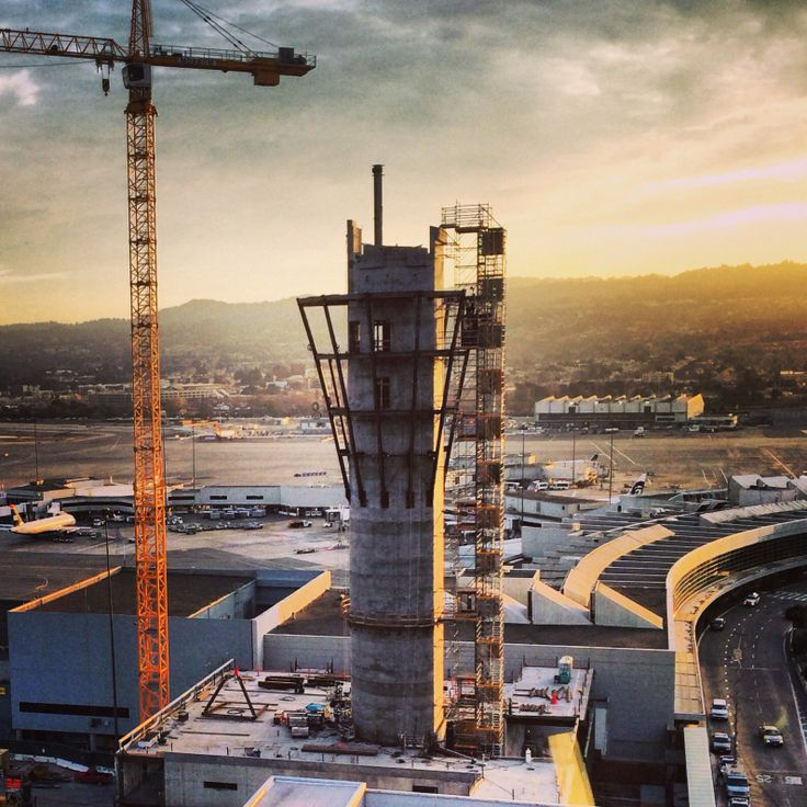 Facebook fan, Samuel Pono, sent us this beauty. The new ATC Tower at sunset. It's coming along!