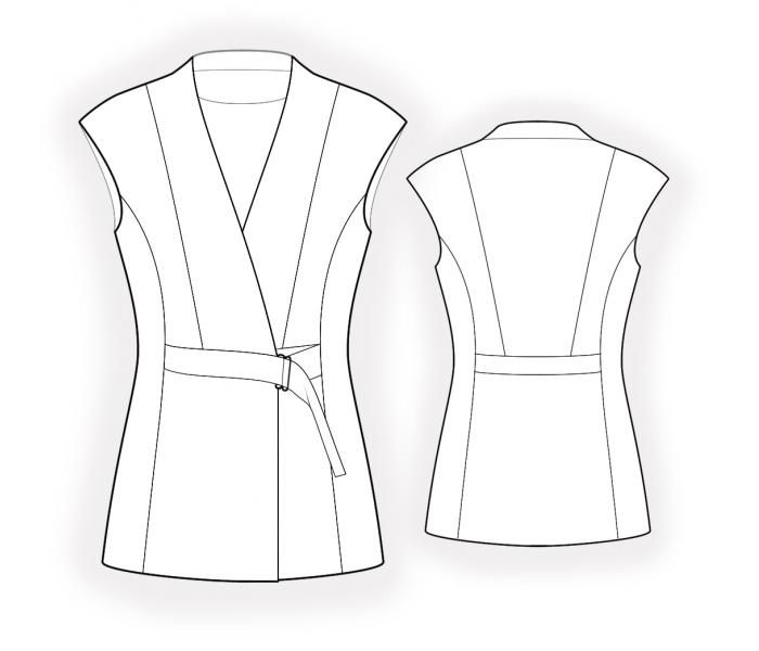 Luxury Free Vest Sewing Patterns Composition - Easy Scarf Knitting ...