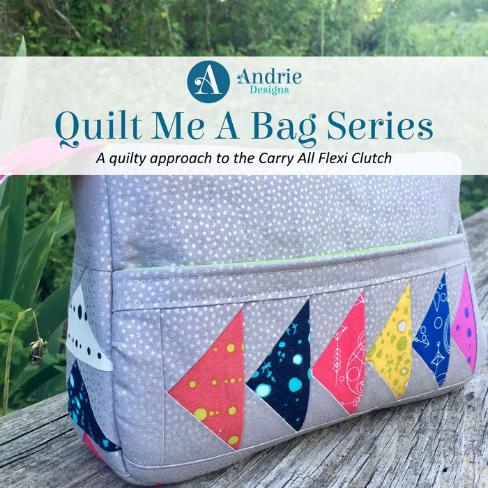 """Hi there! Welcome to another exciting week of the Quilt Me A Bag series! Today we look at my Club CloBird 2016 """"Miss May"""" pattern, which is an odd coincidence considering the 2017 May subscriptions are heading out shortly and I'm the May designer again! Freaky timing! But kinda cool at the same time! ANYWAY! …"""
