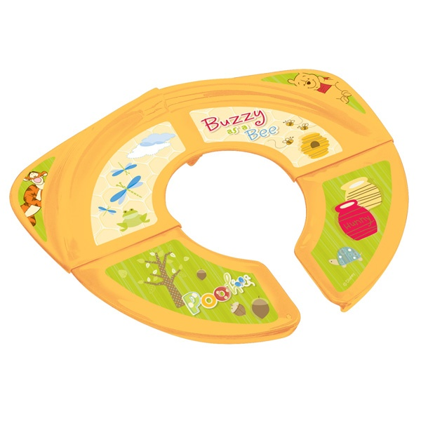winnie the pooh potty travel folding potty seat