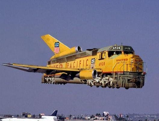 "pacific union trains | ... sent to us was: ""Union Pacific Railroad announced today that it has"