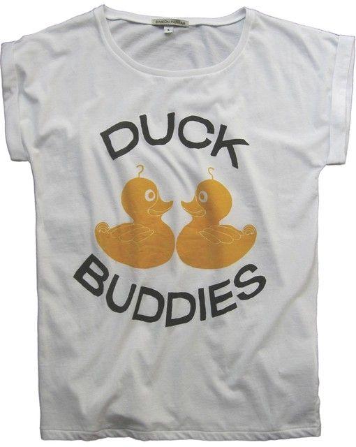 Duck Buddies T-shirt by Simeon Farrar