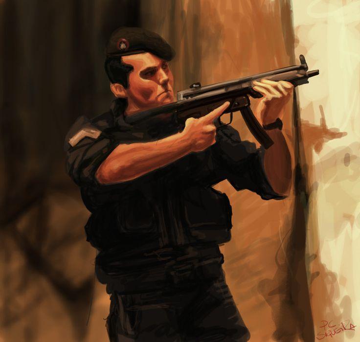 Capitão Nascimento, by PC Siqueira