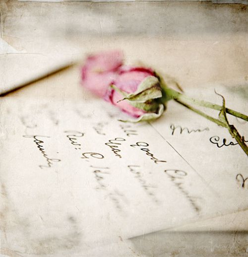 Lovely Hand Written Mail