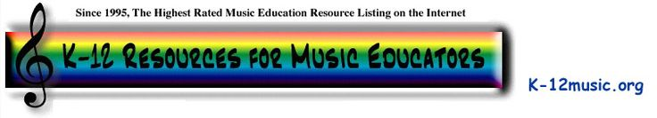 Huge list of music education links.  I may pin some of these separately, but this is a great list of links!