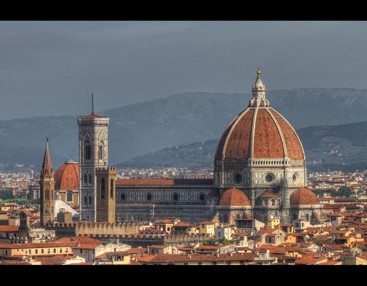 Italy // Tuscany // Florence // Cattedrale di Santa Maria del Fiore // Kathedrale von Florenz   by msc-photodesign