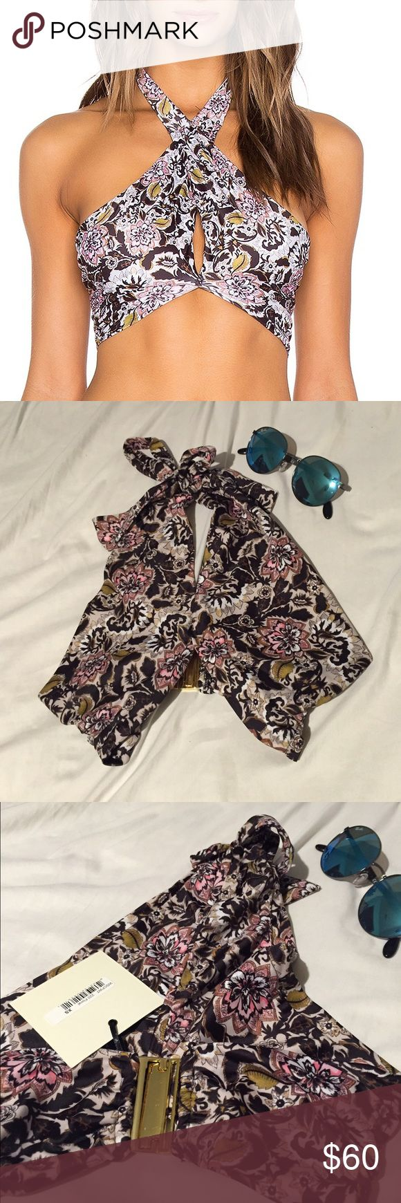Stone cold fox x beach riot top Size xs! Brand new with tags:) no trades! Style is called Harper top Beach Riot Swim Bikinis