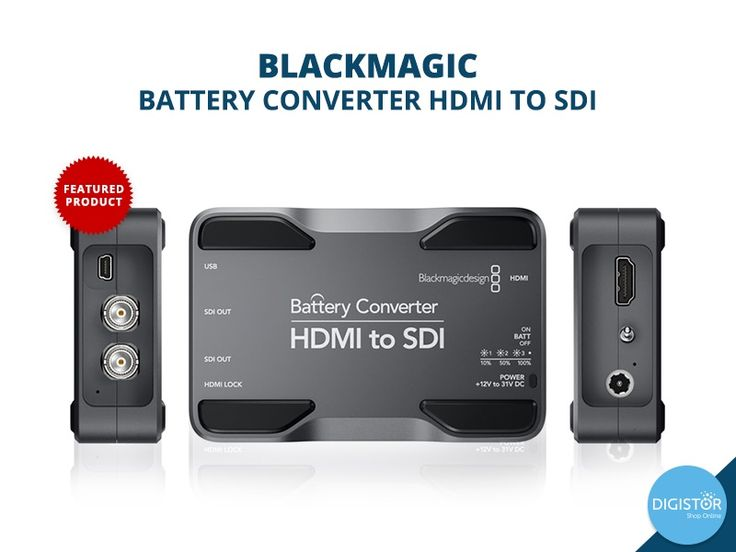 Buy top Blackmagic products, from digital cameras to production management devices for total digital asset management only on Digistor's online digital store. For more information visit https://www.digistor.com.au/store/shop-blackmagic.html