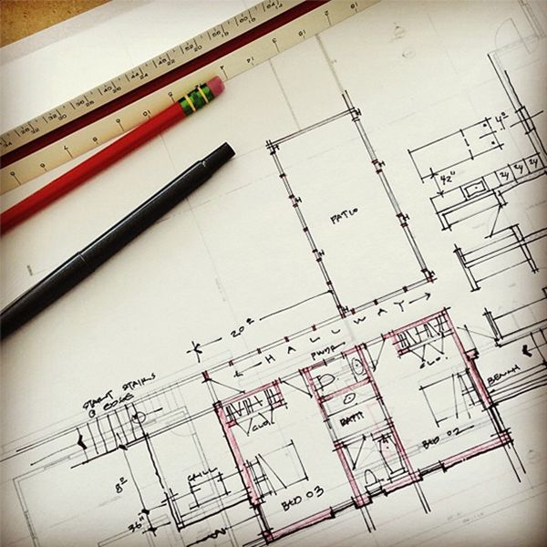 Architecture Design Drawing Pin And More On Architectural Drawings A In Decorating