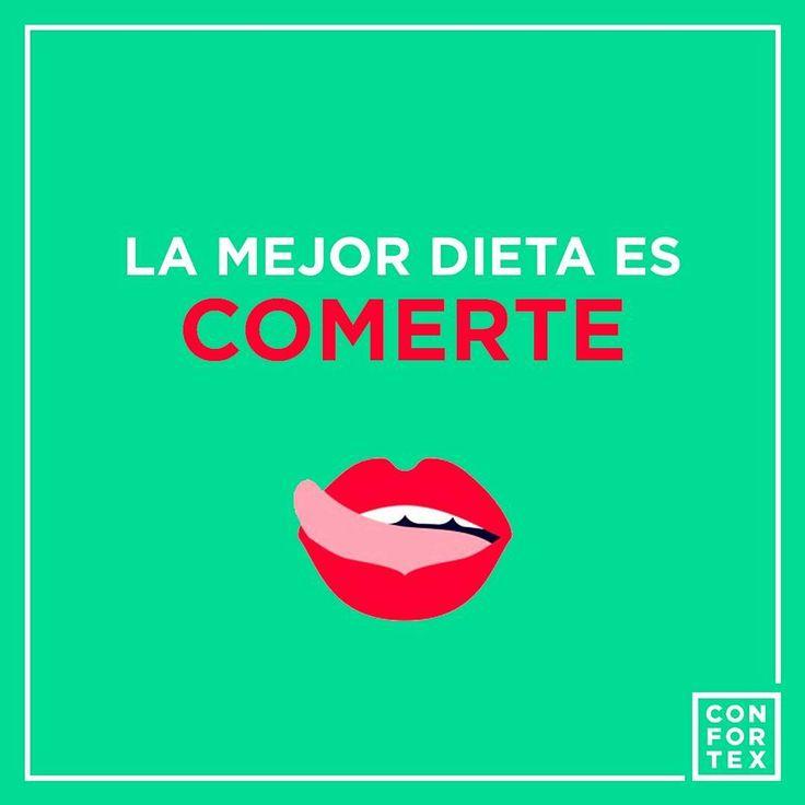 Ninguna dieta es mejor que comerte a ti ..👅👅    #confortex #condones #condoms #condom #latex #diet #comida #dietsehat #food #me #cold #cool #love #lovers #kiss #happy #instafood #divertido #enjoy #art #frase #color #funny #emoji #sexualidad #sexologia #educacionsexual #safesex #sexoseguro #sexeducation