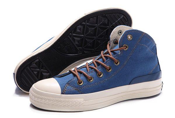 f910a86e619daf 2015 Navy Blue Converse High Tops Jason Statham Chuck Taylor All Star  Canvas Shoes  converse  shoes