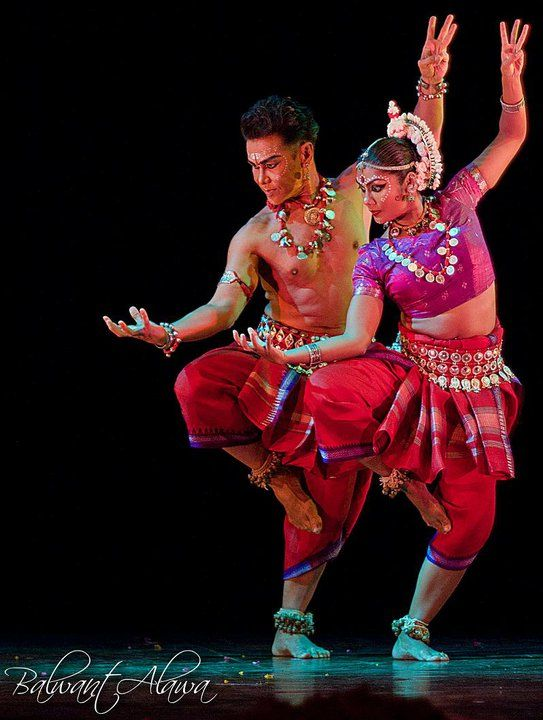 Odissi Dance - this isn't belly dance, but the *power* - wow.