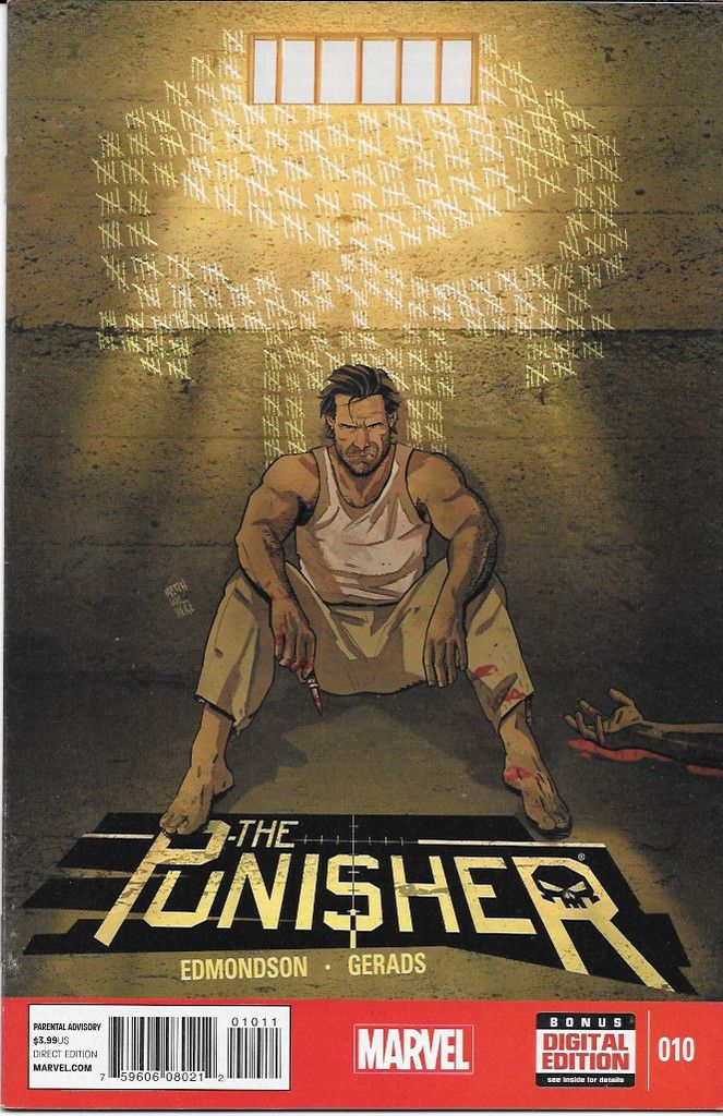 Mercury Rising ___(W) Nathan Edmondson. (A) Art And Cover by Mitch Gerads , This Issue Is Near Mint Condition , The Story .. THE PUNISHER gets incarcerated in a South American prison! Surely he'll be