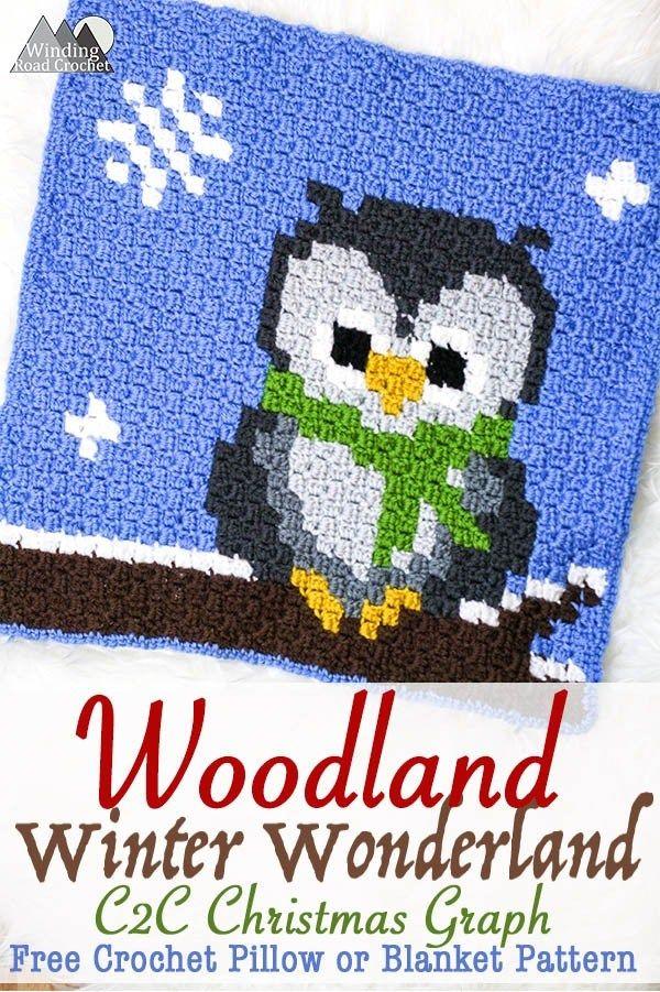 Wise Old Owl Crochet C2C Graph | häkeln | Pinterest | Crochet ...