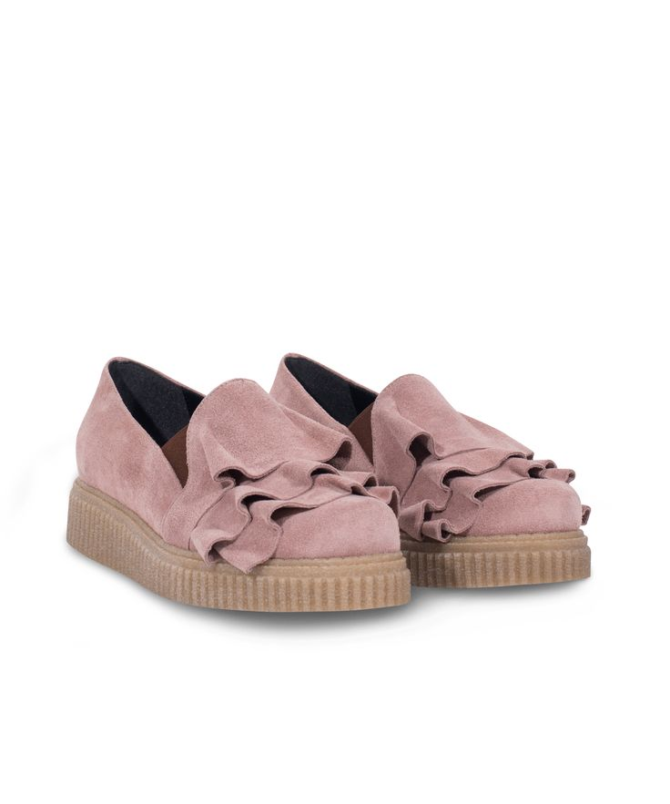 Meraki Creeper Oxford-Slip on with stylish vibes on! Nude