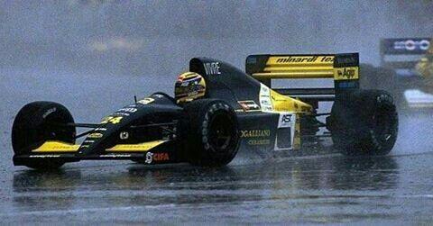 Minardi F1 Team No.24 Roberto MORENO MINARDI M191 Ferrari Tipo037 NA3.5L V12 Goodyear (1991 Rd.16 Australian Grand Prix)