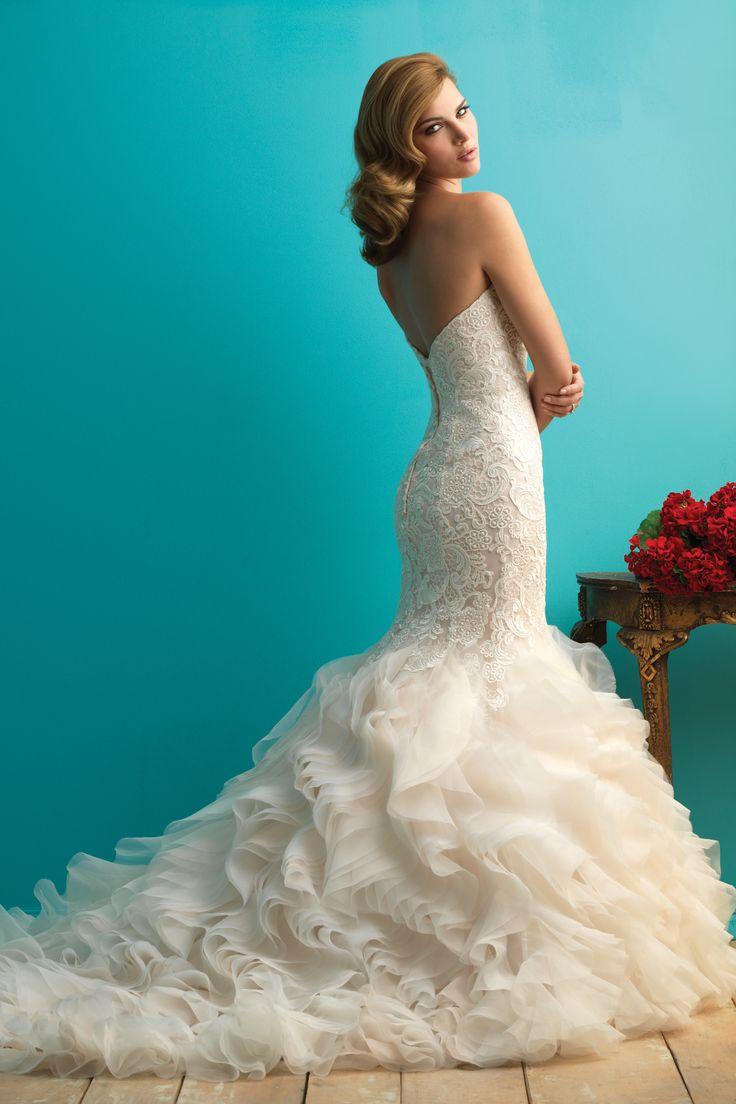 101 best fabulous strapless dresses images on Pinterest   Wedding ...