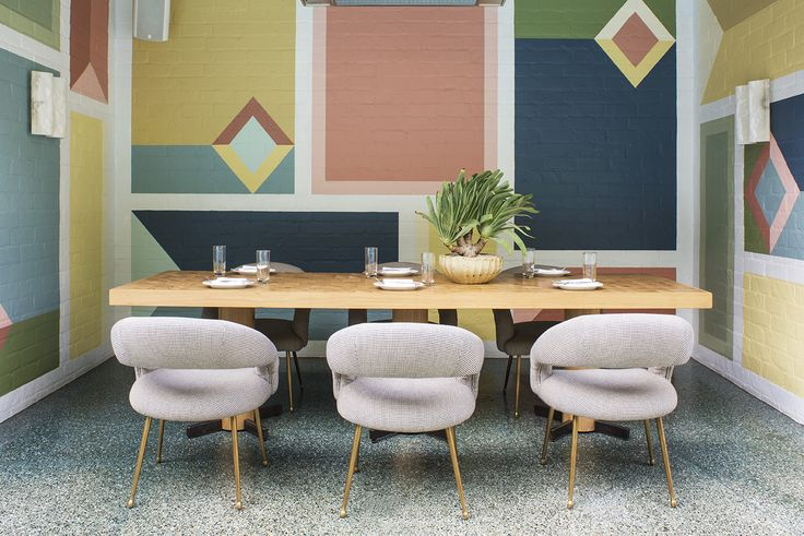 KELLY WEARSTLER | INTERIORS. Outdoor Cabana - Viviane Restaurant at the Avalon Hotel Beverly Hills