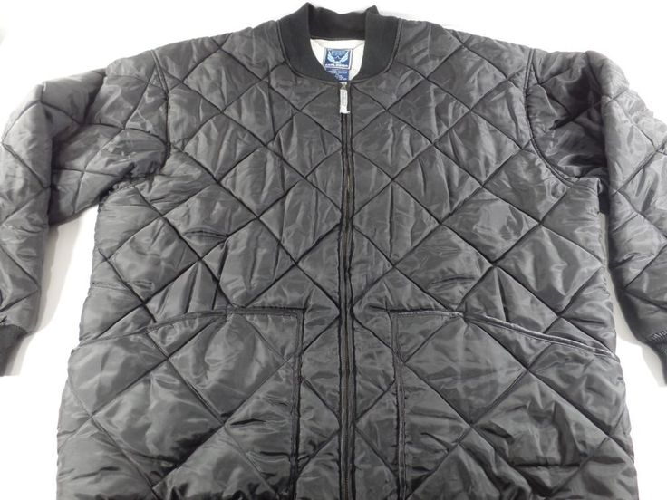 Northern Explosion XL Mens Puffer Coat Winter Jacket Size xl Black Full Zip #NorthernExplosion #Puffer
