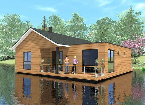Plus de 1000 id es propos de cabane sur l 39 eau maison for Maison flottante