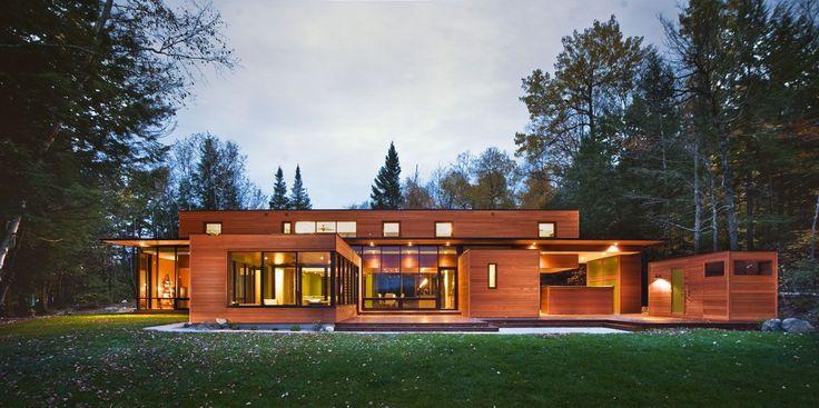 Деревянные дома из бруса (53 фото): проекты и их особенности - HappyModern