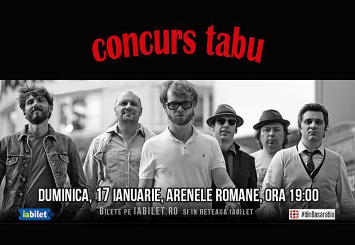 Inscrie-te in concurs pana pe 15 ianuarie si ai sansa de a castiga una din cele doua invitatii la concertul aniversar Zdob si Zdub! http://tabu.realitatea.net/castiga-una-din-cele-doua-invitatii-la-concertul-zdob-si-zdub/