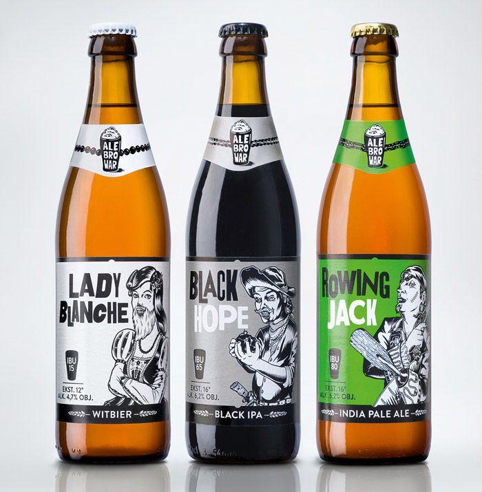 Креативная упаковка для пива: Ale Brower Beer