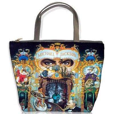 New Michael Jackson Dangerous Bucket Bag Handbags Gift in Clothing, Shoes & Accessories, Women's Handbags & Bags, Handbags & Purses   eBay