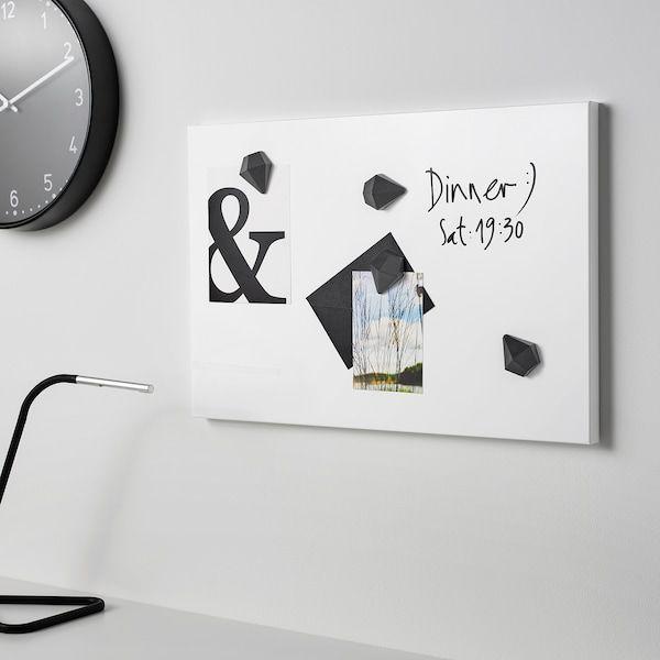 Svensas Memo Board White15 X23 9 99 In 2020 Memo Board Magnetic White Board Memo