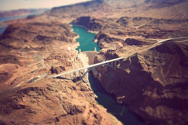 Tilt-Shift Hoover Dam