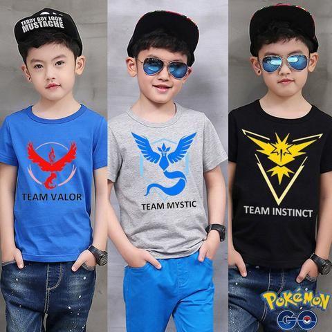 Pokemon Go Kids T-Shirt  Cartoon