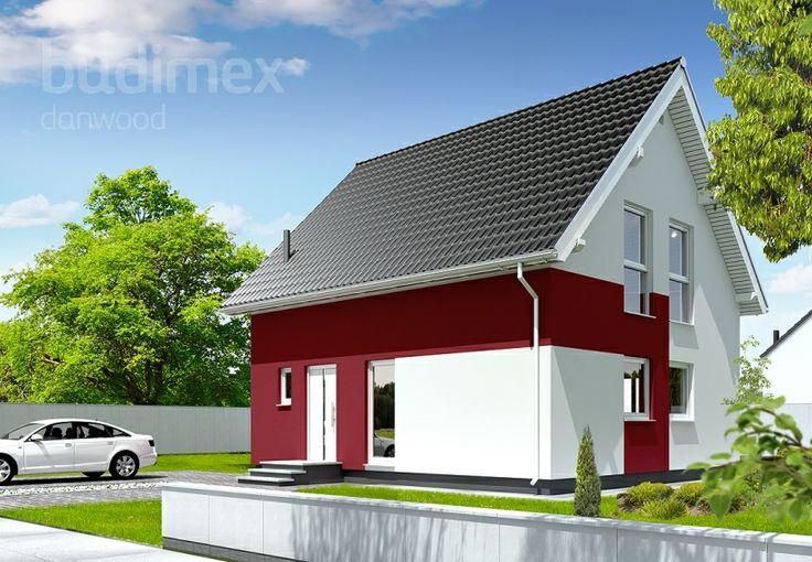 Eineinhalbgeschossige Häuser Point 106 || #houses #hauser || http://www.danwood.de/hauser/eineinhalbgeschossige/point-106