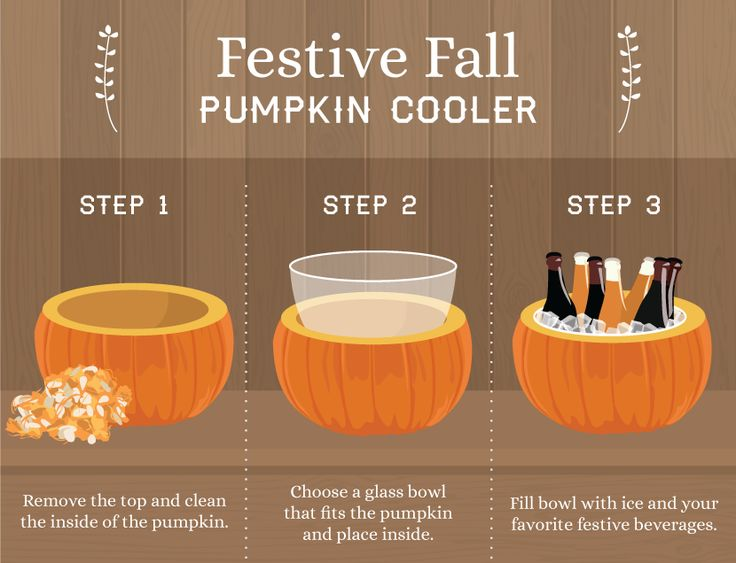 Making a Pumpkin Into a Beer Cooler: Nothing spoils Halloween like a warm pumpkin beer, so grab a pumpkin and make this festive beer cooler.