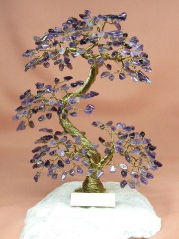 drzewko szczęścia z drutu