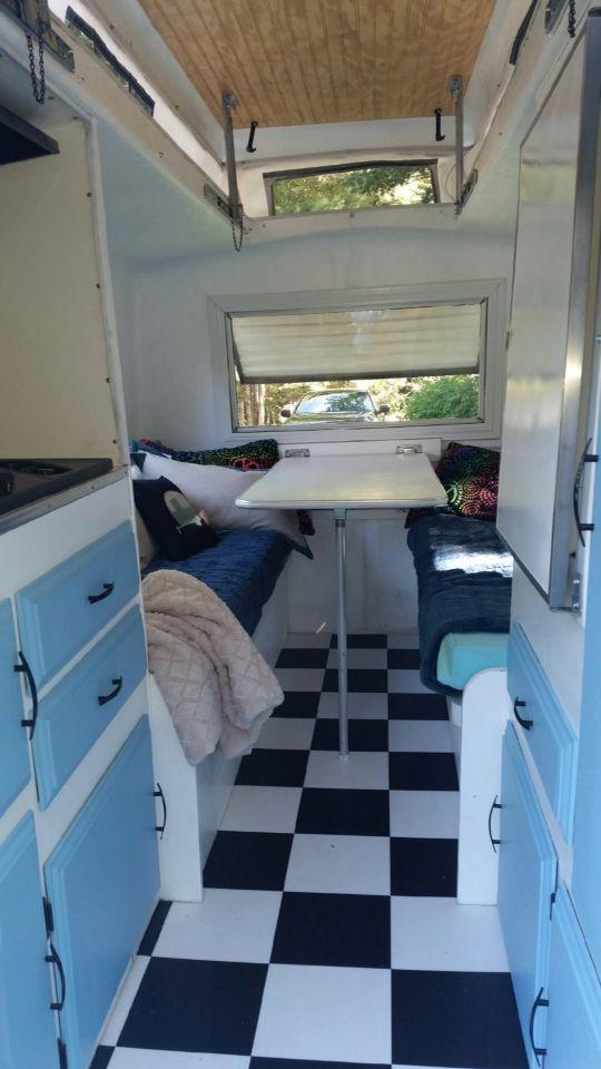 Finished The Compact Jr Antique Camper Pinterest