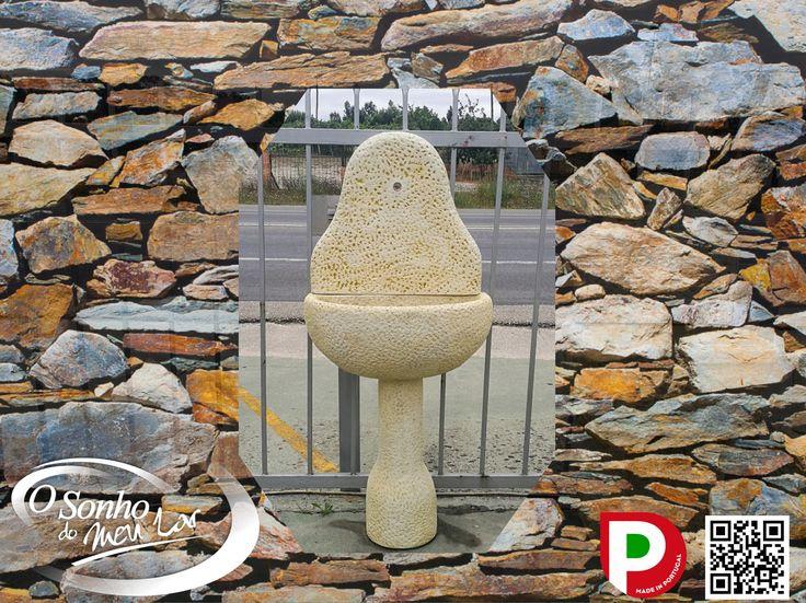 LAVATÓRIO PICOTADO (cimento)