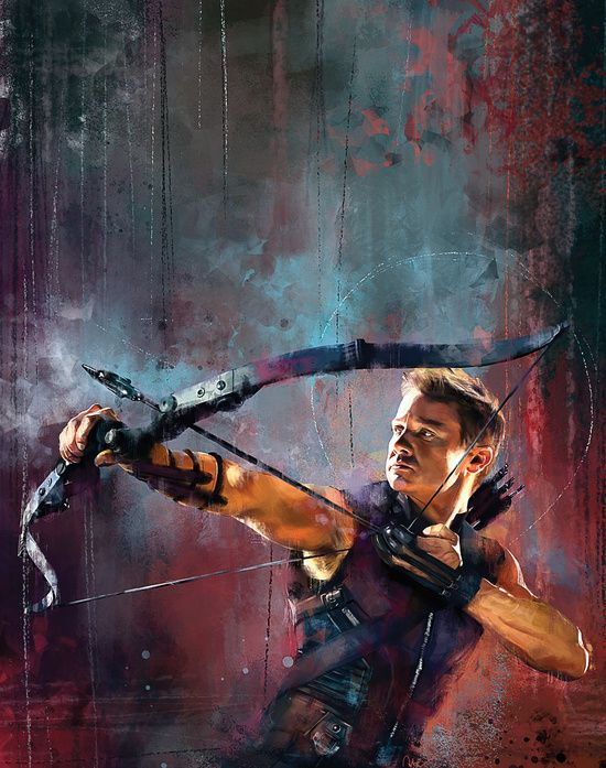 Clint Barton Canvas Print by Wisesnail