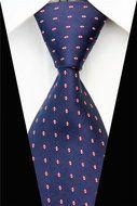 Stropdas Southwark - Blauw Rood Stip  Description: Stropdas Southwark Een prachtige stropdas die je bij alle gelegenheden kunt dragen. Misschien ben je voor het werk op zoek naar een nieuwe stropdas of heb je binnenkort een bruiloft of een ander belangrijk feestje. Je wil er dan graag netjes uit zien en dat kan! Je kunt nu namelijk een blauw/rode stropdas kiezen met witte stippen en dat zorgt ervoor dat je stralend de avond door gaat komen. De deluxe das kan namelijk met verschillende…