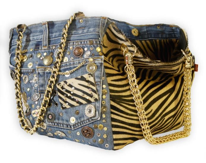 riciclo jeans borsa