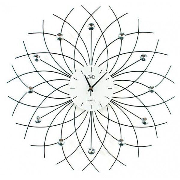 Nástenné hodiny dizajn JVD HJ71 60cm,  nastenne hodiny, na stenu, dekoracie do bytu, dizajn