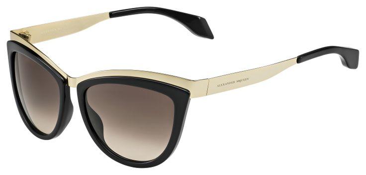 Alexander McQueen apresentou os novos óculos de sol Cate Eye, e nós adorámos!