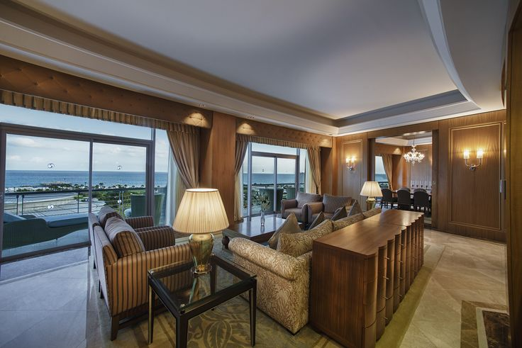 King Suite Living Room / Kral Dairesi Oturma Odası