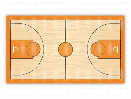 Free Printable Basketball Court Diagrams 12v Cigarette Lighter Plug Wiring Diagram For Drawing Up Plays And Drills Pinterest Drawings