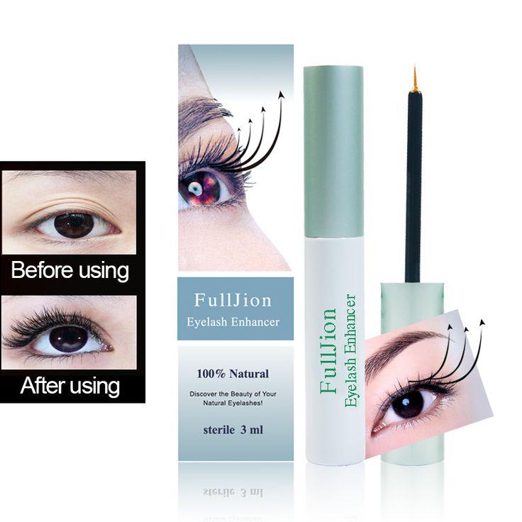 Kuat Makeup bulu mata penambah Pertumbuhan Bulu Mata Perawatan asli Fulljion 7 Hari Tumbuh 2-3mm Enhancer Eye Cambukan Lagi tebal