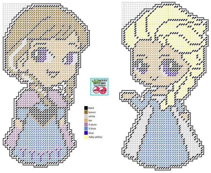 ANNA & ELSA by LISA HEATHER (LILCHERRY DESIGNS)