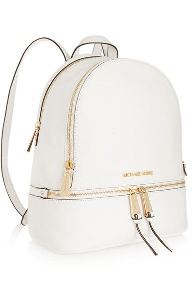 White textured-leather (Cow) Zip fastening along top Weighs approximately  2.2lbs  dc16d3eb78a7f