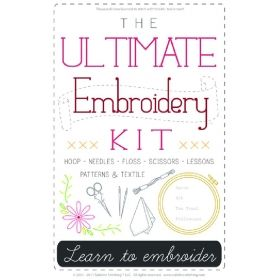 Ultimate Embroidery Kit from Sublime Stitching
