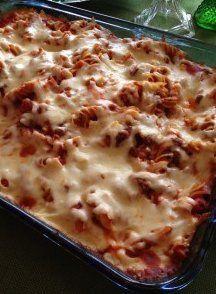 Copycat Pizza Hut Pizza Pasta Casserole | A delicious and easy pasta casserole!