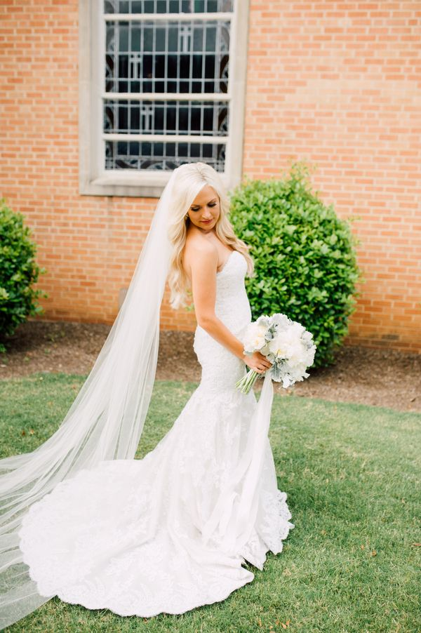 Unique Intimate u Traditional Tennessee Church Wedding